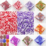 100-packs-Colorful-Rainbow-Rubber-Bands-Stitching-Color-Loom-Bands-Refills-Pack-DIY-Bracelets-Free-Shipping