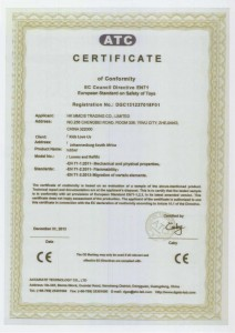 Loom Bands Safety Certificate