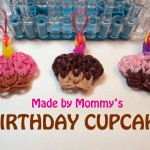 BIRTHDAY CUP CAKE CHARMS