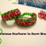 CHRISTMAS STARBURST SNOW BRACELET