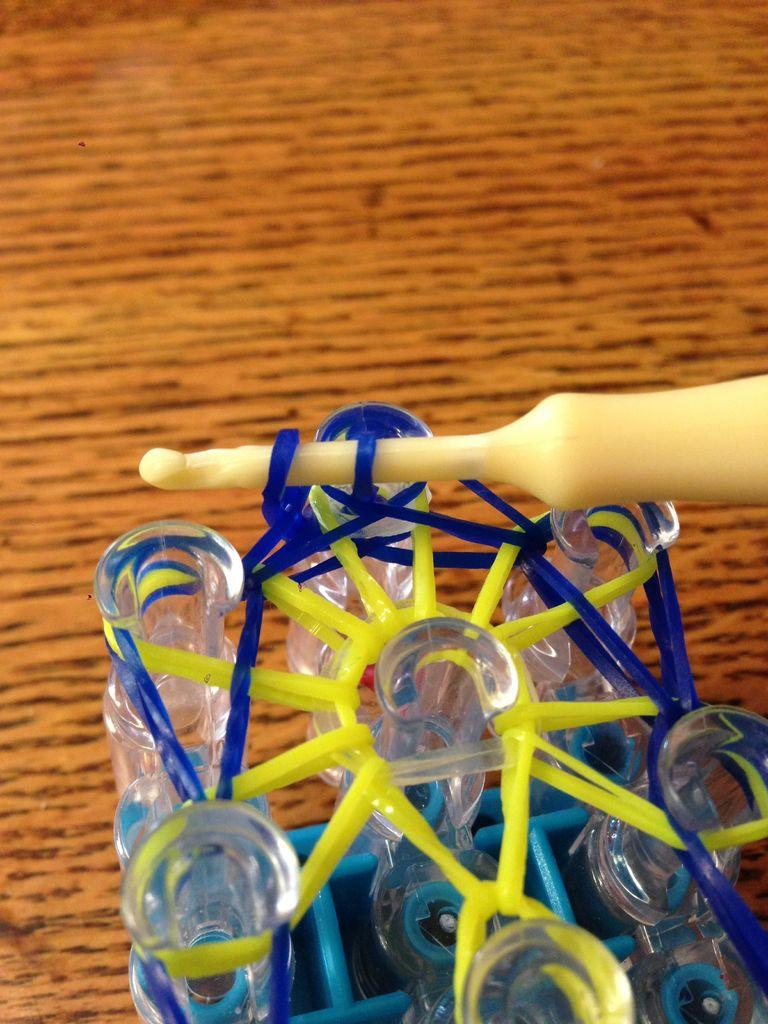 How To Make A Starburst Bracelet - Step 13
