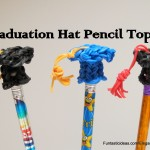 graduation pencil tops (made from loom)